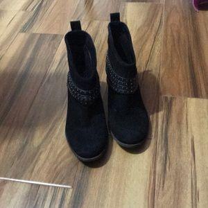 Jessica Simpson ankle black booties